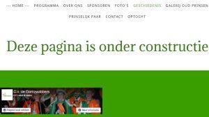 Ergernissen websites I Deze pagina is onder constructie I Tekstschrijver zorg en welzijn I Tekstschrijver Utrecht
